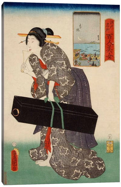 Takanawa Japanese Canvas Art Print