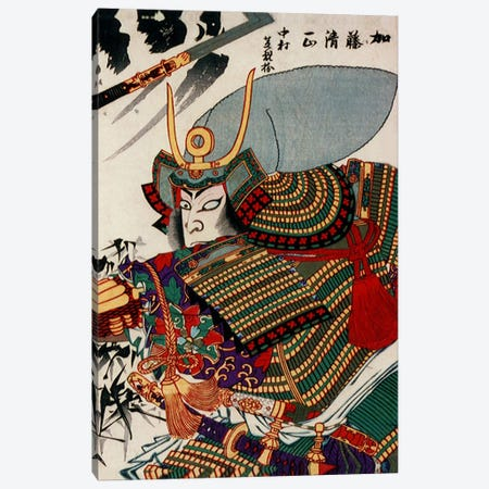 Kato Kiyomasa Canvas Print #1620} by Unknown Artist Canvas Artwork