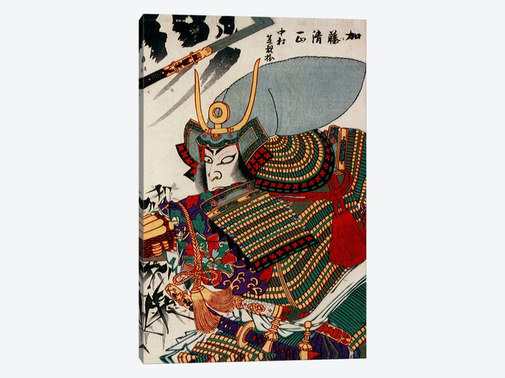 Kato Kiyomasa by Unknown Artist 1-piece Canvas Wall Art