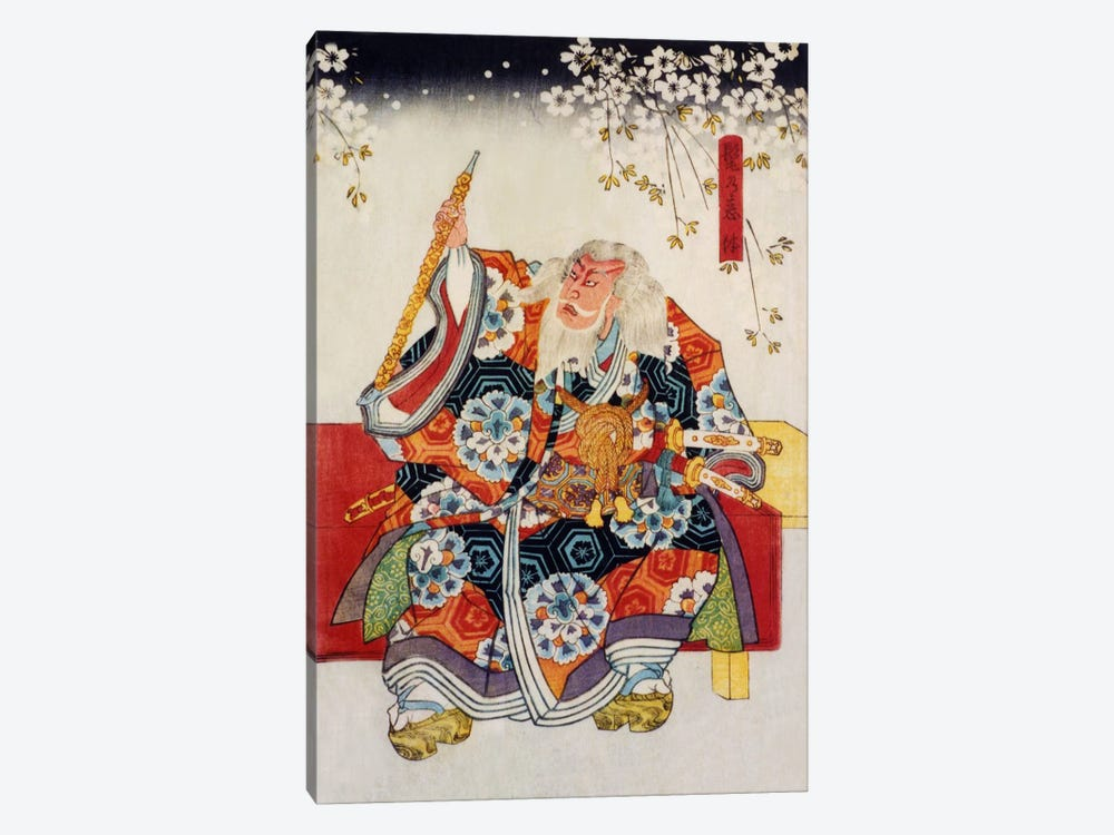 Old Samurai 1-piece Canvas Art Print