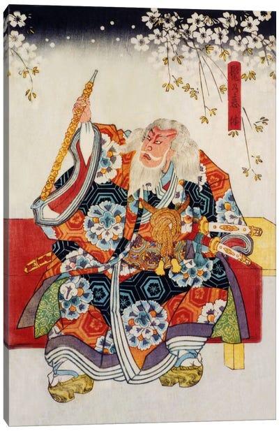 Old Samurai Canvas Art Print