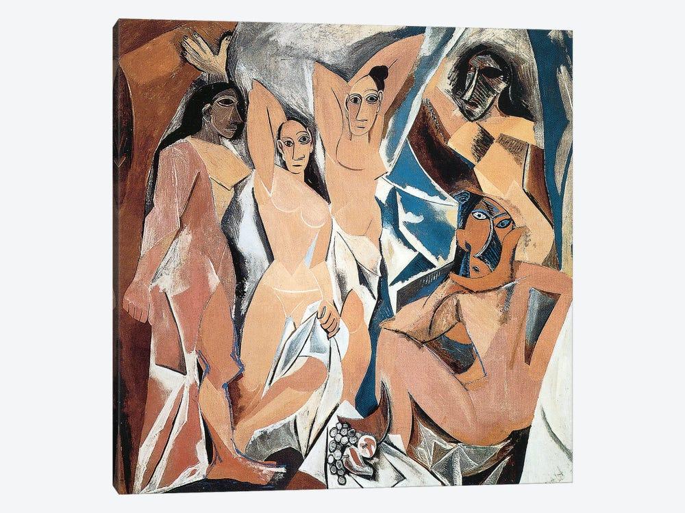 Les Demoiselles d'Avignon by Pablo Picasso 1-piece Art Print