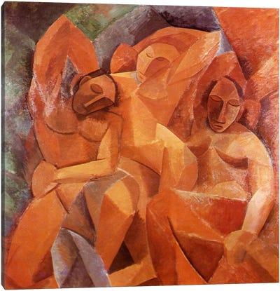 Three Women Canvas Art Print