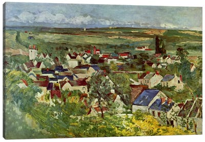 View of Auvers Canvas Art Print