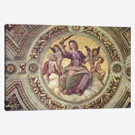 Stanza della Segnatura Canvas Print #1729} by Raphael Canvas Art Print