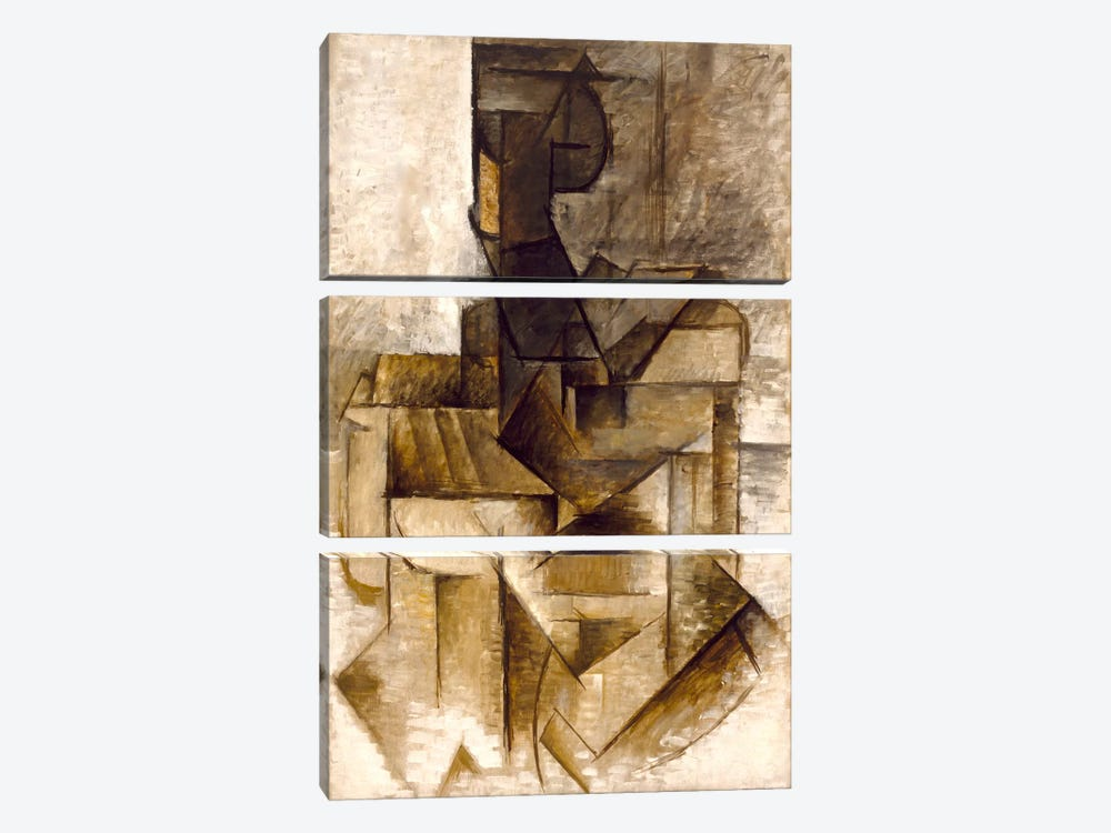 The Rower by Pablo Picasso 3-piece Art Print