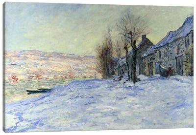 Lavacourt Sunshine and Snow Canvas Print #1795