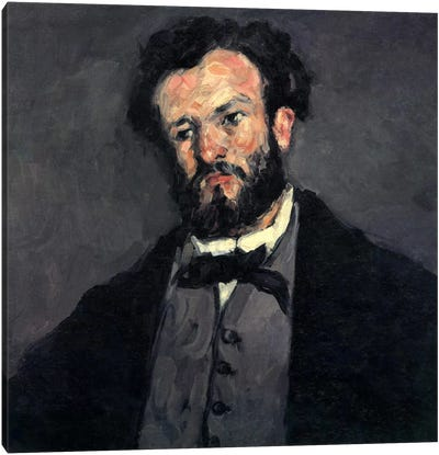 Portrait of Antony (Anthony) Valabregue Canvas Print #1804
