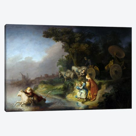 Abduction of Europa Canvas Print #1806} by Rembrandt van Rijn Canvas Print