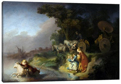 Abduction of Europa Canvas Art Print