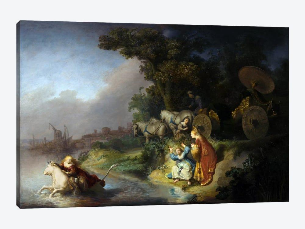Abduction of Europa by Rembrandt van Rijn 1-piece Canvas Print