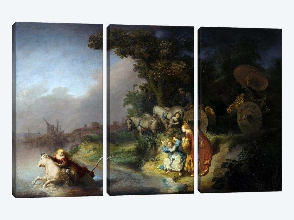 Abduction of Europa by Rembrandt van Rijn 3-piece Art Print