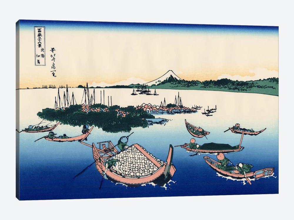 Tsukada Island in The Musashi Province by Katsushika Hokusai 1-piece Art Print