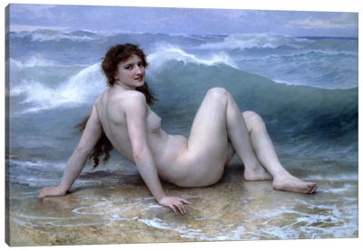 The Wave (La Vague) Canvas Print #1821