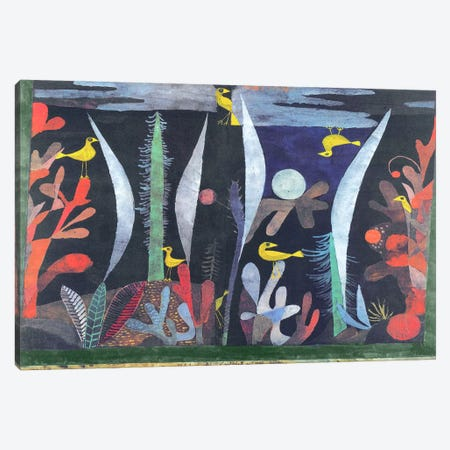 Landscape with Yellow Birds Canvas Print #1839} by Paul Klee Canvas Print