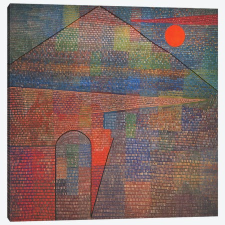 Ad Parnassum Canvas Print #1844} by Paul Klee Art Print