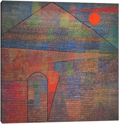 Ad Parnassum by Paul Klee Art Print