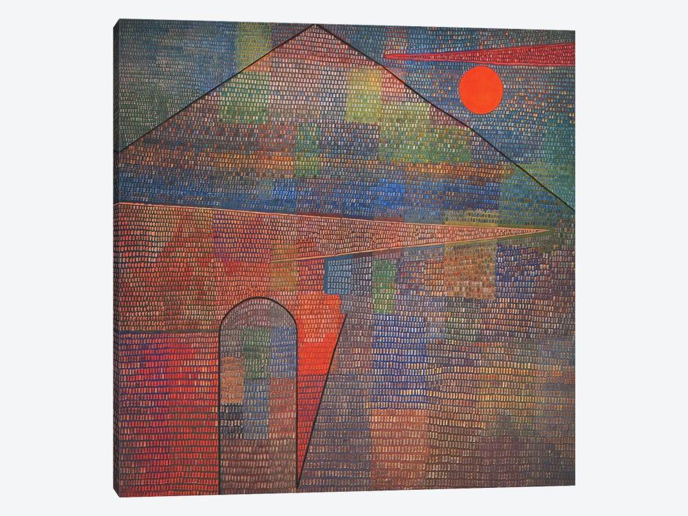 Ad Parnassum by Paul Klee 1-piece Art Print
