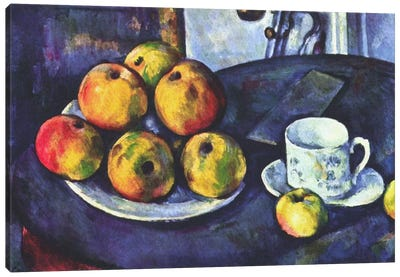 Still Life with Apples Canvas Print #1850