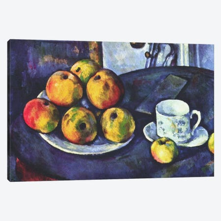 Still Life with Apples Canvas Print #1850} by Paul Cezanne Canvas Art Print