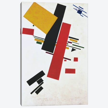 Dynamic Suprematism Canvas Print #1852} by Kazimir Severinovich Malevich Canvas Art Print