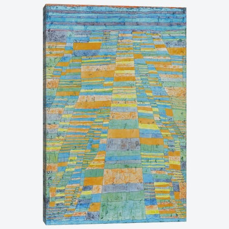 Primary Route and Bypasses Canvas Print #1853} by Paul Klee Canvas Art Print