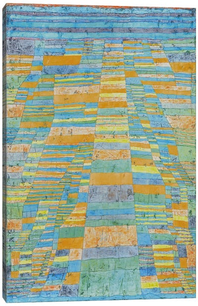 Primary Route and Bypasses by Paul Klee Canvas Art Print