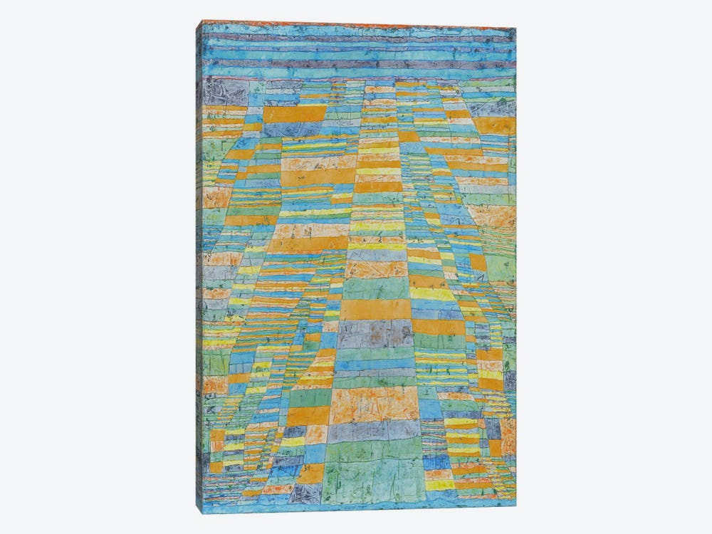 Primary Route and Bypasses by Paul Klee 1-piece Canvas Print