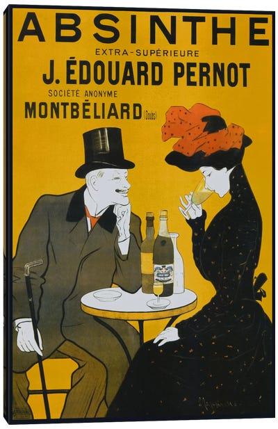 Absinthe, Pernot - Vintage Poster Canvas Art Print