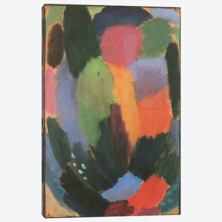 Song Canvas Print #1867} by Alexej Von Jawlensky Art Print