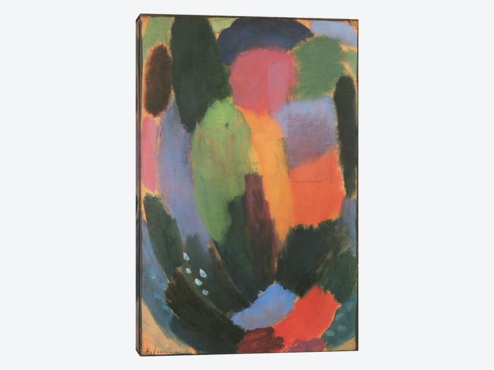 Song by Alexej Von Jawlensky 1-piece Canvas Artwork