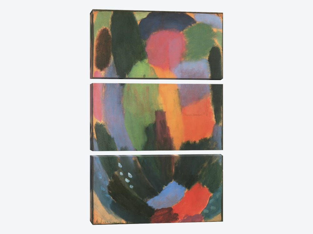 Song by Alexej Von Jawlensky 3-piece Canvas Artwork