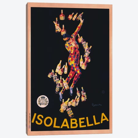 Isolabella (Vintage) Canvas Print #1868} by Leonetto Cappiello Canvas Artwork