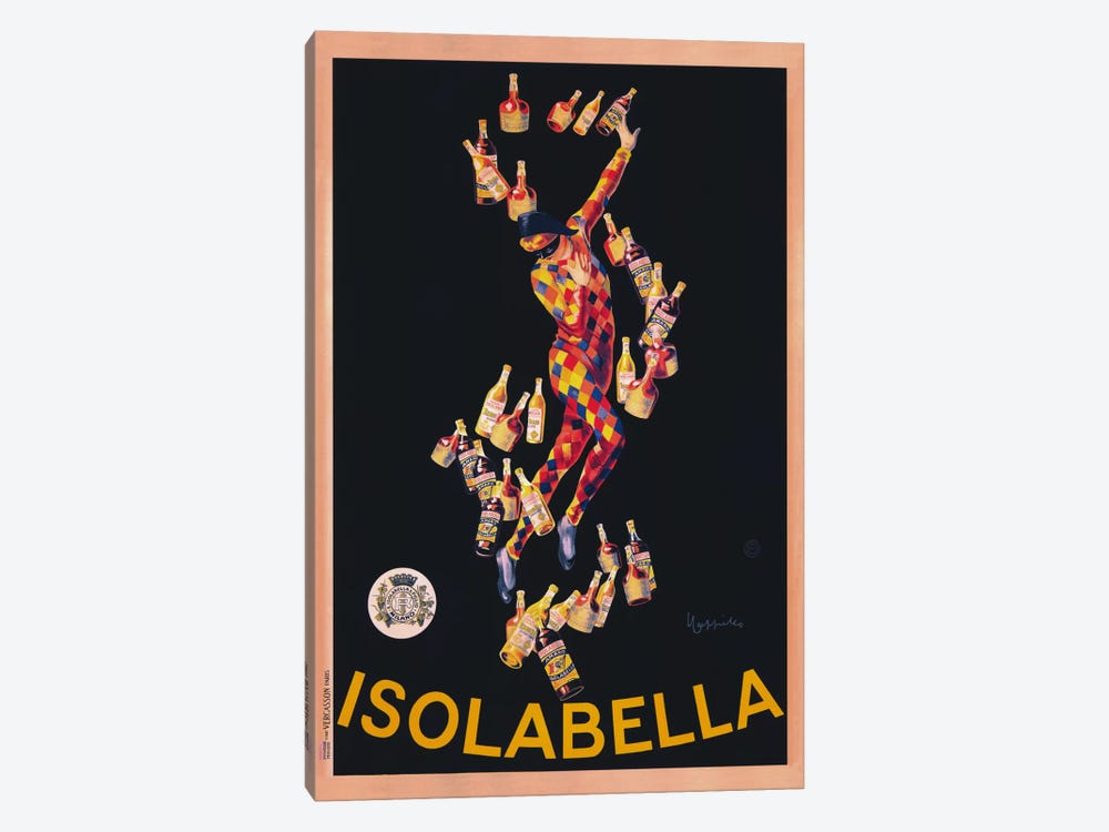 Isolabella (Vintage) by Leonetto Cappiello 1-piece Canvas Print