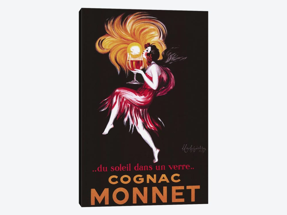 Cognac Monnet (Vintage) by Leonetto Cappiello 1-piece Canvas Artwork