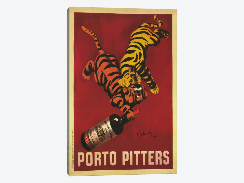 Porto Pitters (Vintage) by Leonetto Cappiello 1-piece Art Print