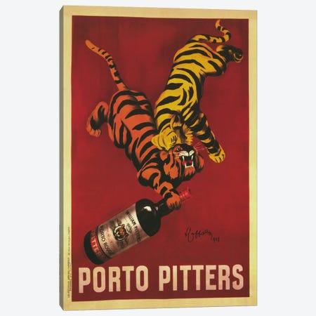 Porto Pitters (Vintage) Canvas Print #1871} by Leonetto Cappiello Canvas Print