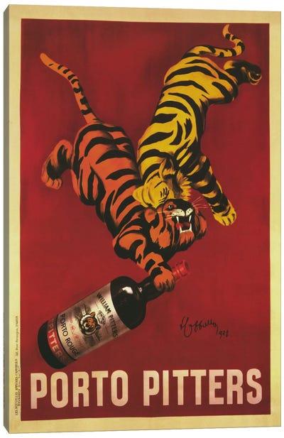 Porto Pitters (Vintage) Canvas Art Print