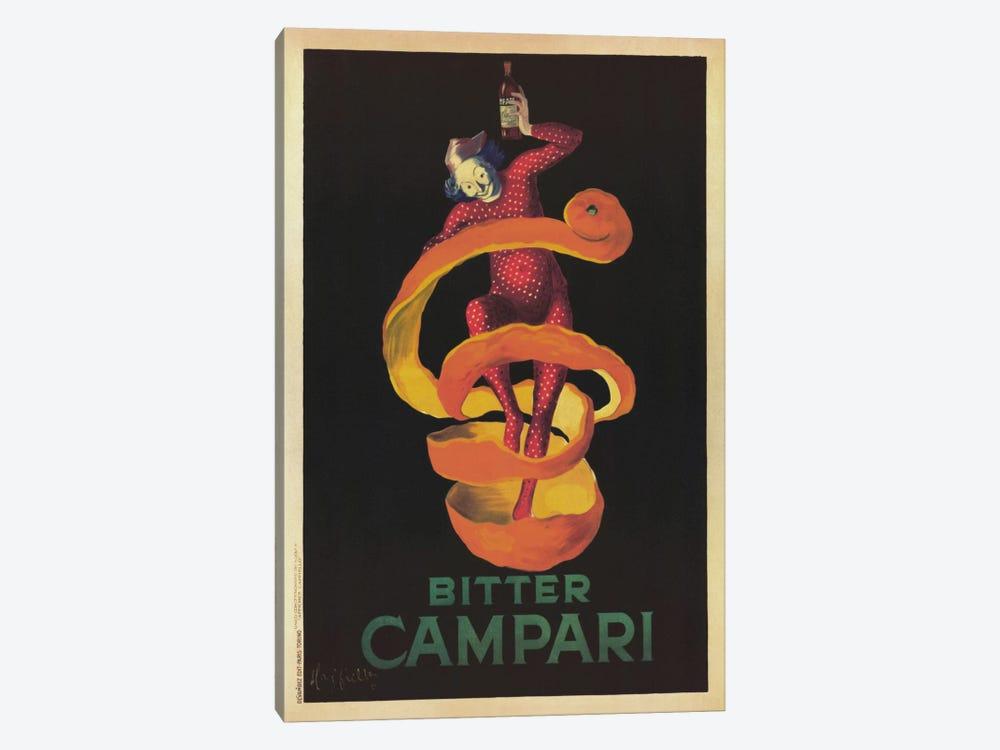 Bitter Campari (Vintage) by Leonetto Cappiello 1-piece Canvas Artwork