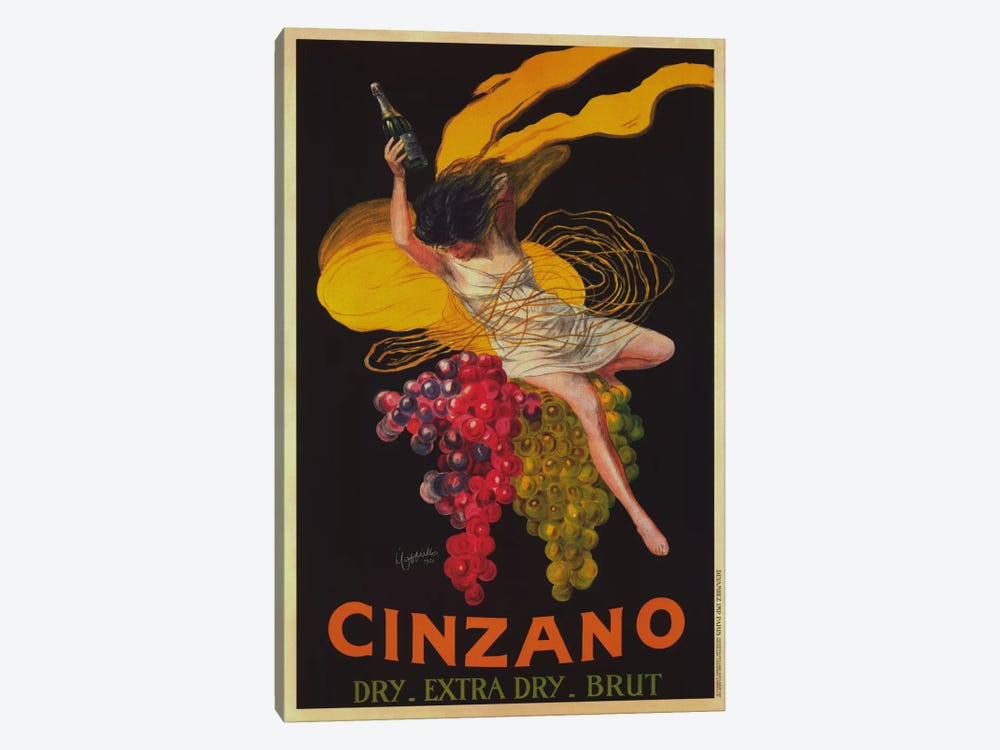 Asti Cinzano (Vintage) by Leonetto Cappiello 1-piece Canvas Print