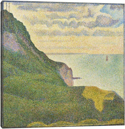 Seascape at Port-en-Bessin (Normandy) Canvas Art Print