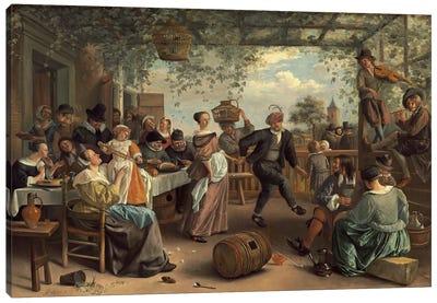 The Dancing Couple Canvas Art Print