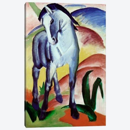 Blue Horse Canvas Print #1892} by Franz Marc Canvas Art Print