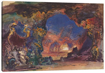King & Queen Canvas Art Print