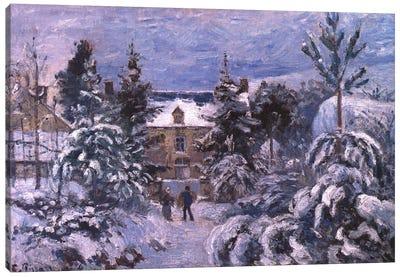 Piettes House Canvas Art Print