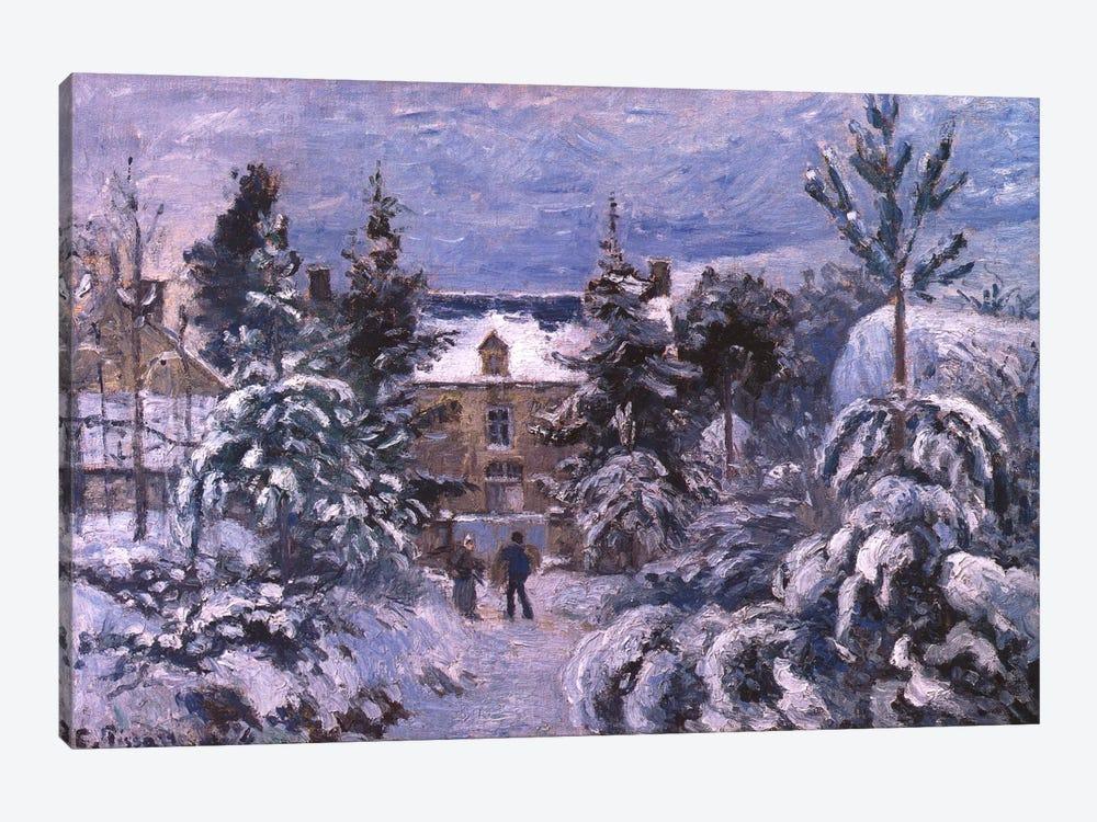 Piettes House by Camille Pissarro 1-piece Art Print