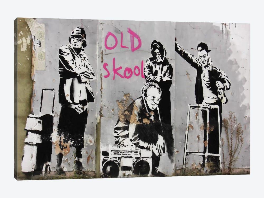 Old Skool by Unknown Artist 1-piece Art Print