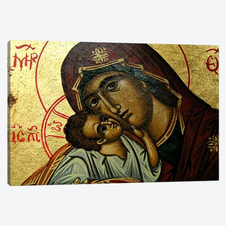 Christian Icon Virgin Mary Canvas Print #22} by Unknown Artist Canvas Art Print