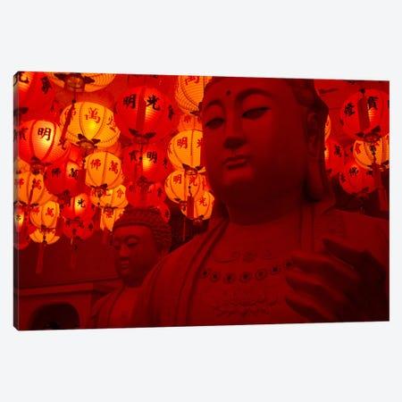 Buddha Statue Canvas Print #23} by Unknown Artist Art Print