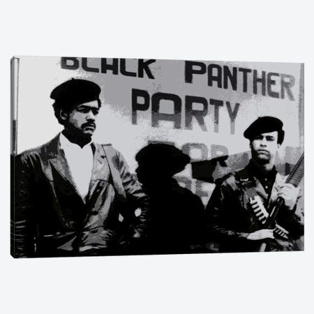 Black Panther Party Canvas Print #252} by Unknown Artist Canvas Print